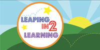 Leaping In2 Learning logo slide