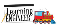 Learning Engineer logo slide