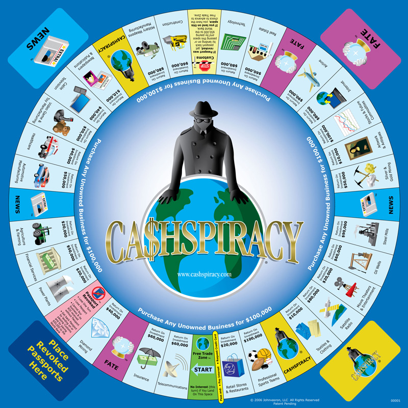 Cashspiracy-Board