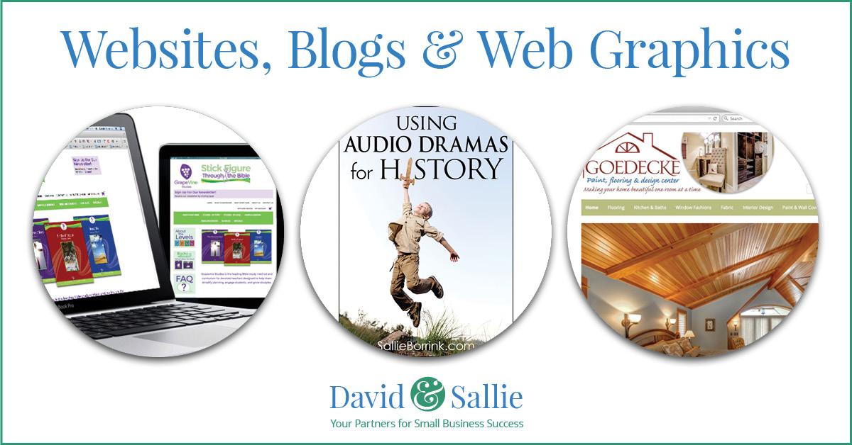 Websites, Blogs & Web Graphics