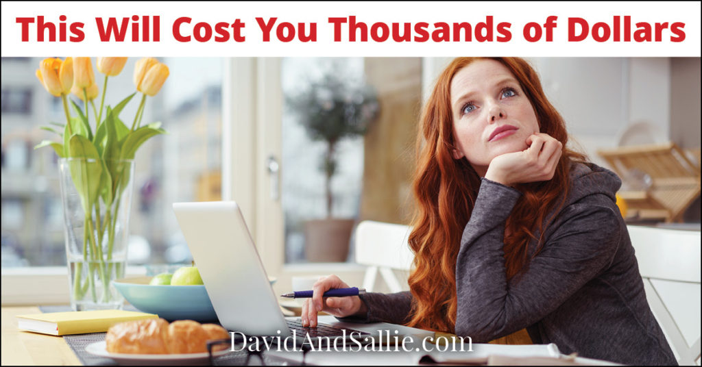 Working at the Kitchen Table will Cost You Thousands of Dollars