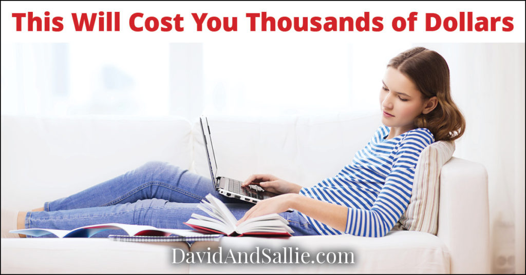 Working on the Couch will Cost You Thousands of Dollars